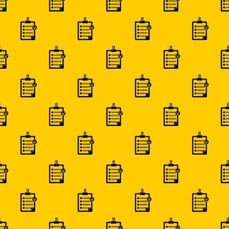 Check list pattern seamless vector repeat geometric yellow for any design