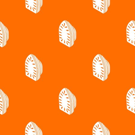 Iron pattern vector orange for any web design best