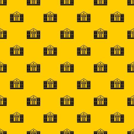 Embassy pattern vector