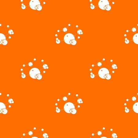 Butane pattern vector orange for any web design best