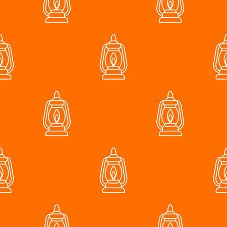 Mining lamp pattern vector orange for any web design best