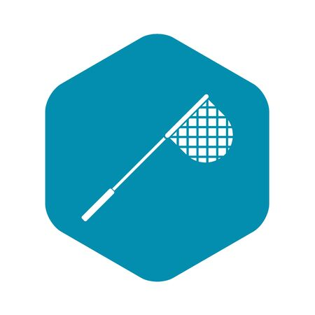 Fishing net icon. Simple illustration of fishing net vector icon for web
