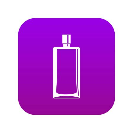 Scent bottle icon digital purple for any design isolated on white vector illustration