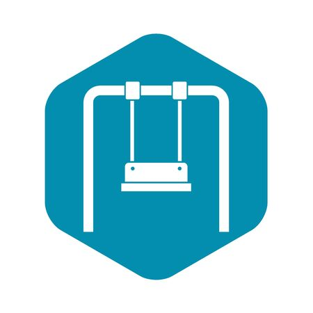 Swing icon, simple style
