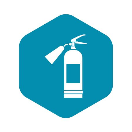 Fire extinguisher icon. Simple illustration of fire extinguisher bread vector icon for web