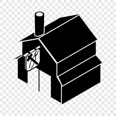 Smithy icon, simple black style Standard-Bild - 127892020