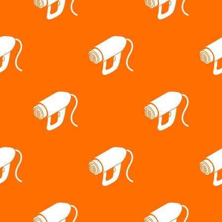 Heat power tool pattern vector orange Reklamní fotografie - 127915646