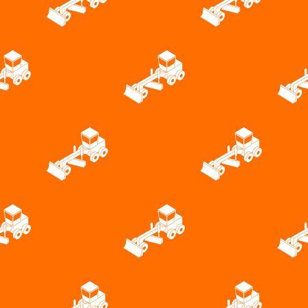 Grader pattern vector orange for any web design best