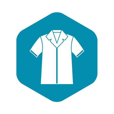 Shirt polo icon, simple style