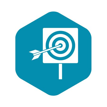 Darts icon. Simple illustration of darts vector icon for web Иллюстрация