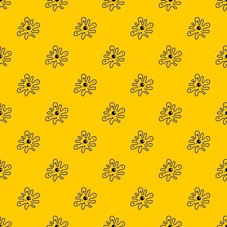 Amoeba pattern vector Illustration