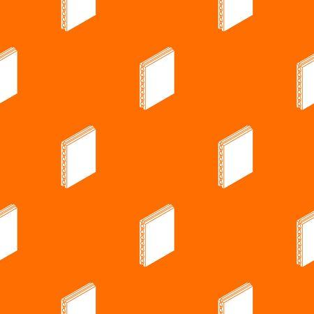 Sandwich panel pattern vector orange Illusztráció