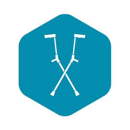 Other crutches icon, simple style