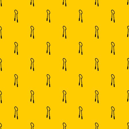 Clamping mites pattern seamless vector repeat geometric yellow for any design