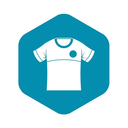 Shirt icon, simple style