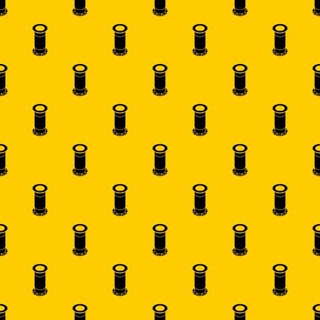 Sewerage pipe pattern seamless vector repeat geometric yellow for any design