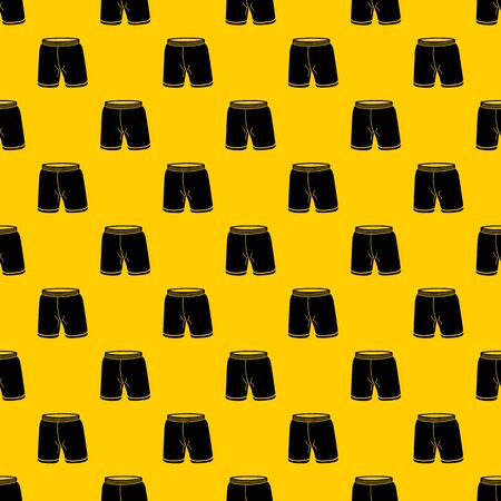 Shorts pattern seamless vector repeat geometric yellow for any design