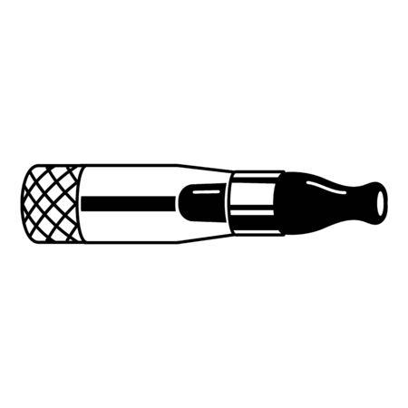 Vaporizer icon, simple style