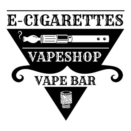 Vape bar, simple style