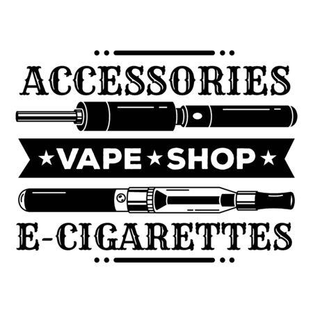 Vape accessories, simple style