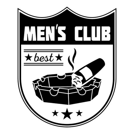 Best men club, simple style