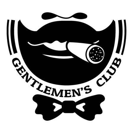 Gentleman bow tie club, simple style