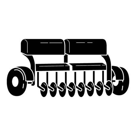 Farming equipment icon. Simple illustration of farming equipment vector icon for web design isolated on white background Фото со стока - 129932082