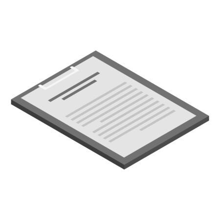 Checkboard icon, isometric style