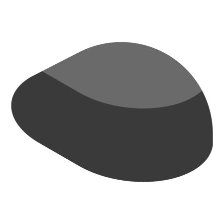 Computer mouse icon, isometric style