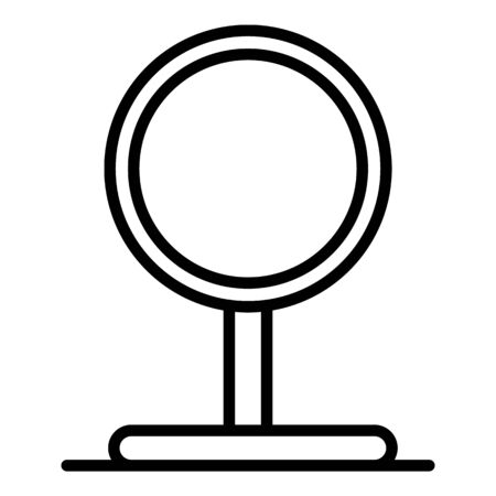 Dog jump circle icon, outline style Stock fotó - 129993098