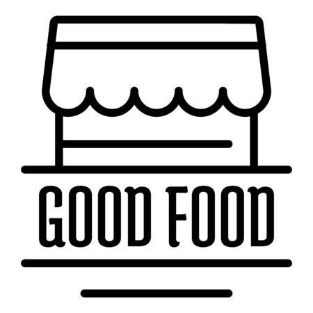Good food outline style