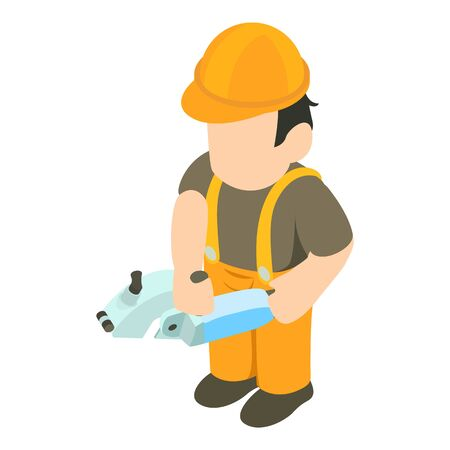 Joiner icon. Isometric illustration of joiner vector icon for web