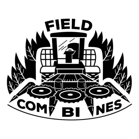 Field combines icon, simple style