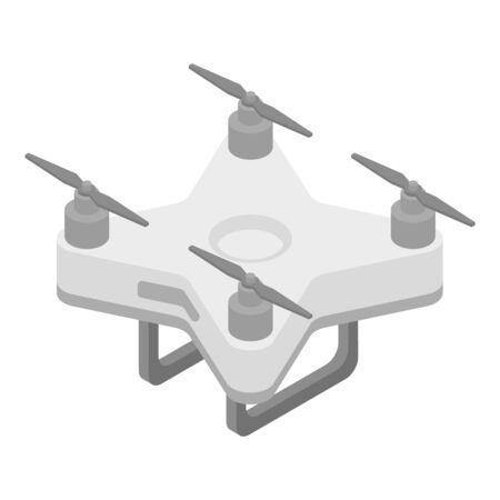 Home drone icon, isometric style Stock Illustratie