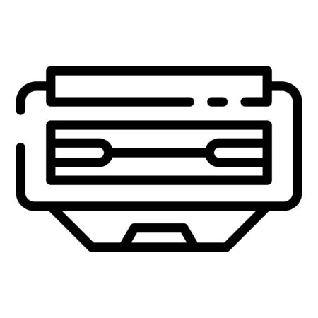 Office cartridge icon, outline style