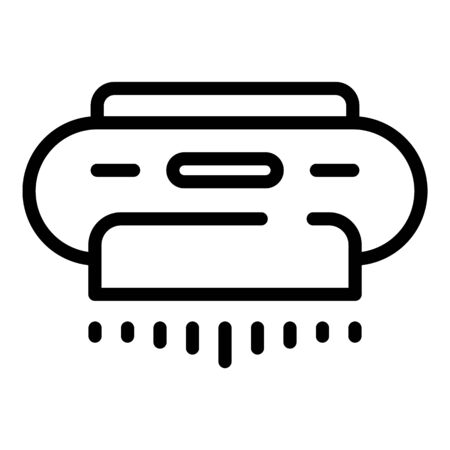 Conditioner air purifier icon, outline style