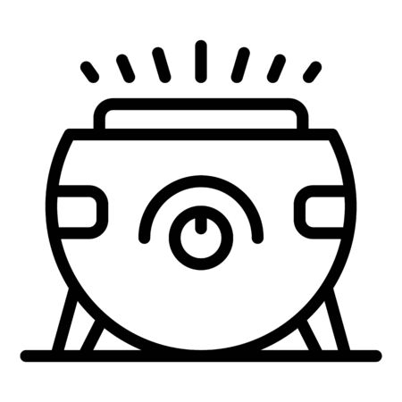 Medicine air purifier icon, outline style