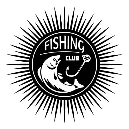 City fishing club simple style