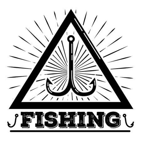 Fishing, simple style