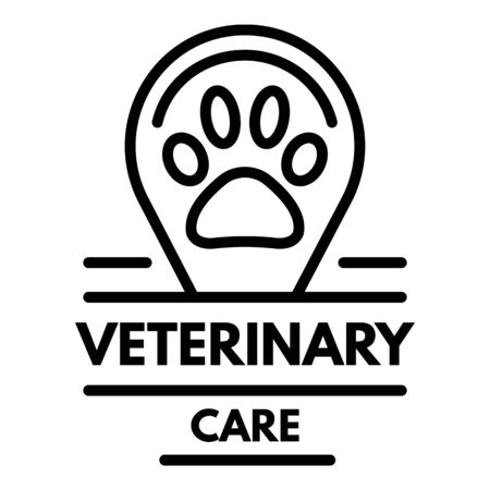 Veterinary care  outline style