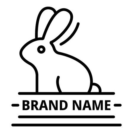 Brand veterinary name, outline style