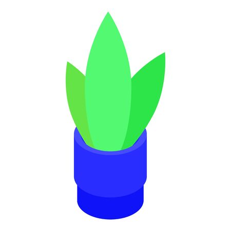 Houseplant icon. Isometric of houseplant vector icon for web design isolated on white background Foto de archivo - 133572227