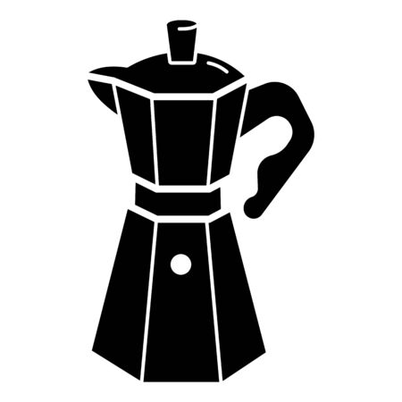 Coffee maker icon. Simple illustration of coffee maker vector icon for web design isolated on white background