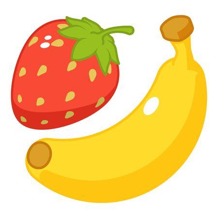 Fruit dessert icon, isometric style Stock Illustratie