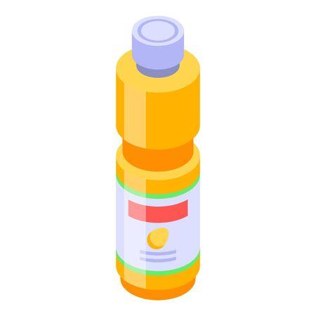 Mango bottle juice icon, isometric style Banco de Imagens - 139839843