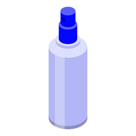 Perfume lotion icon. Isometric of perfume lotion vector icon for web design isolated on white background