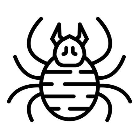 Forest bug icon, outline style Archivio Fotografico - 140200437