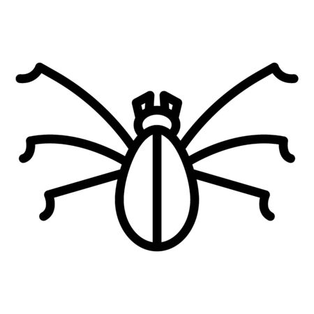 Water insect icon, outline style Archivio Fotografico - 140200454