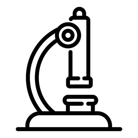 Gynecology microscope icon, outline style