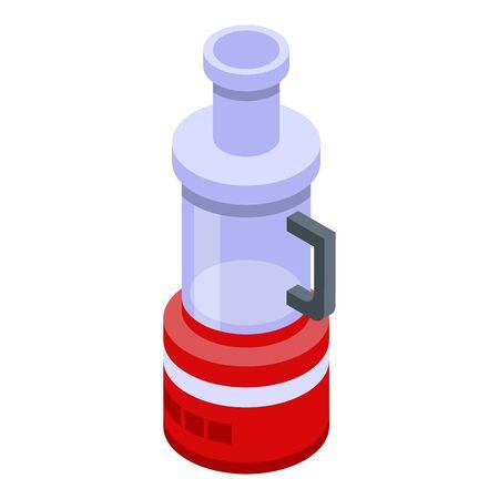 Electric food mixer icon, isometric style Ilustracja